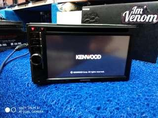 Head unit kenwood tape mobil DDX4038
