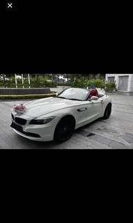 Wedding Car BMW Z4 Rent $388/24hrs