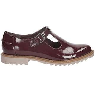 Ckarks Griffin Monty Mary Jane Shoes Patent Leather UK6 EU39