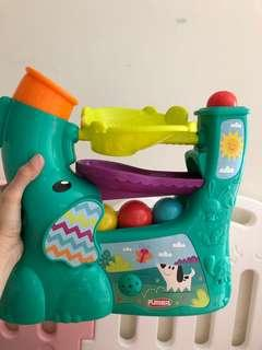 Playskol elephant ball popper