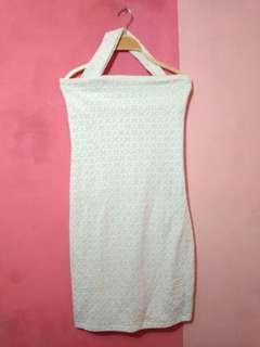 white dress fitbody