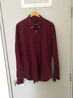 Gap Gingham Shirt Size L