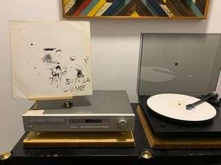 Suis La Lune - Quiet, Pull The String white vinyl