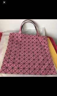 Limited Edition Pink Issey Miyake Bao Bao Prism