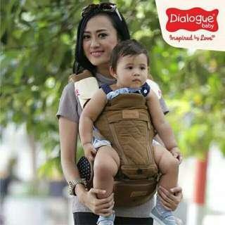 Dialogue Baby Gendongan Hipseat Premium Granite series