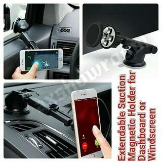 Long neck Telescopic Magnetic Dashboard / Windscreen Phone or GPS holder
