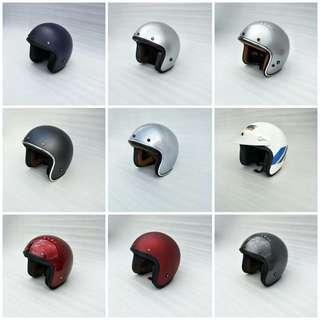 Helmet Retro half face helmet vespa harley