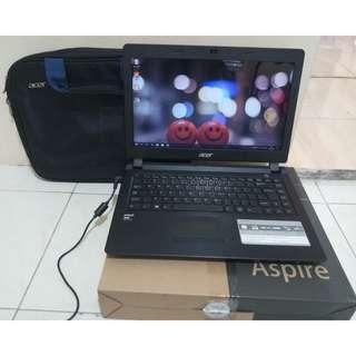 Laptop Desain & Gaming Acer Z3-451 Amd A10 Ram 4GB Hdd 500GB Fullset