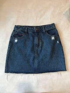 Factorie Denim Skirt Size 8