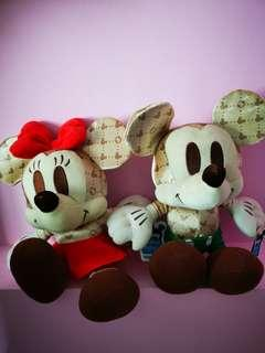 Collection Micky and Minnie Mouse set