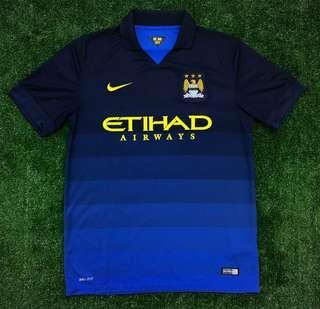 Original Manchester City 2014 away jersey jersi #SPARKJOYCHALLENGE