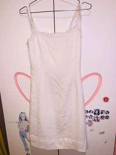 Midi Dress Broken White Size S
