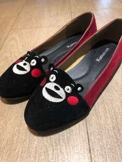 Kumamon shoes bought in Japan