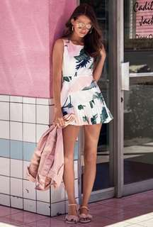 4c97ea620c1 bnwt bnip tcl the closet lover luela schelli skirt romper in florals