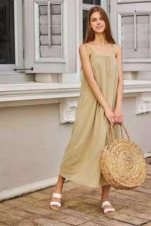 🚚 💎 bnwt bnip tcl the closet lover brilynn maxi dress in sage green