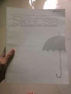 Majalah arsitektur sketsa