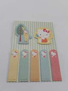 Cute Hello Kitty Post-it Notes Set
