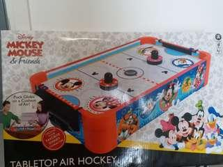 Disney tabletop air hockey 空氣球遊戲桌