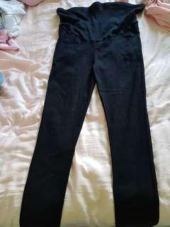 Black maternity pants