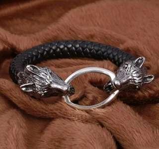 Luxury Wolf Bracelet