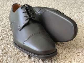 Bally Men's Black Tayson Leather Derbys (New)