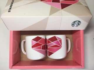 Starbucks Couple Mugs ❤️💕 (Microwave/Dishwasher safe)