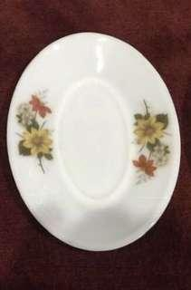 Pyrex Autum Glory Underplates for Gravy Or Small Oval Plates