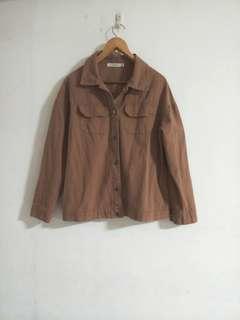 焦糖色 夾克外套