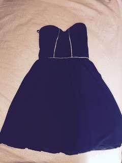 Size 6 strapless dress