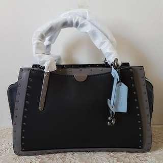 Tas wanita branded CO DREAMER 28 black multi original leather