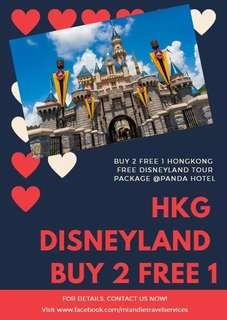 Hong Kong Free Disneyland B2T1