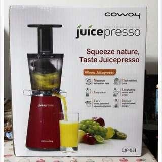 Conway juicepresso三合一曼摩萃取原汁機
