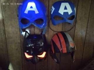 Heroes masks set