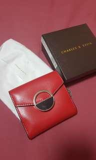 🚚 Charles & Keith Wallet Red