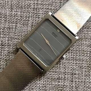 SEIKO 8N0393 Japan Original Strap Italia Stainless Steel Jam Tangan