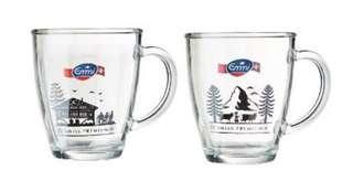 Glass Cup Mug Collectibles (Swiss Premium)