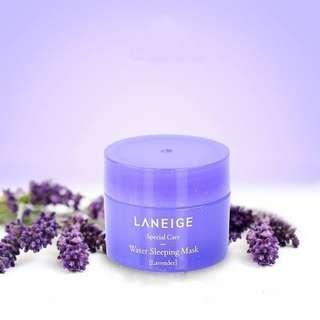 Laneige Water Sleeping Mask Lavender