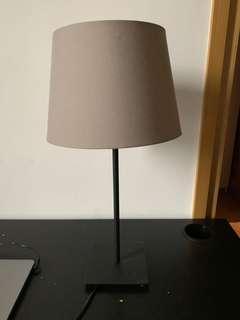 IKEA Lamp with small screw bulb