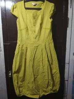 Mustard Yellow Dress Large(tagsize)