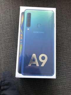 Brand new Samsung A9 Lemonade Blue 128GB