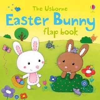 🚚 [BN] Usborne- Easter Bunny flap book