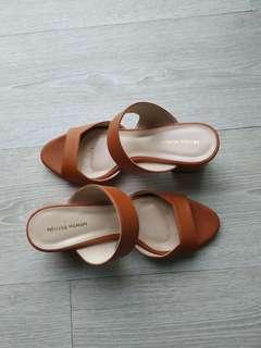 Nelissa Hilman Ruth Heels Size 7 in Brown #sparkjoychallenge