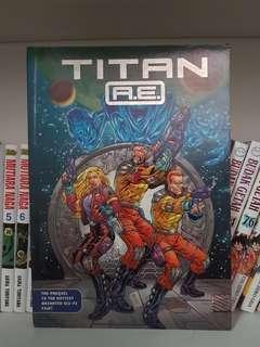 Komik Titan R.E comics