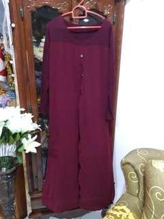 Maroon dress #MMAR18