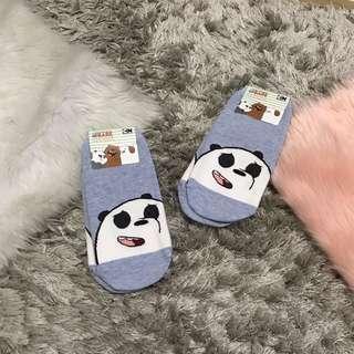 We Bare Bear Socks