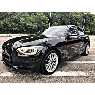 BMW F20 116i 1.6 TAHUN 2014