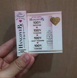 Too Faced Hangover 3 in 1 Primer 2ml #SparkJoyChallenge