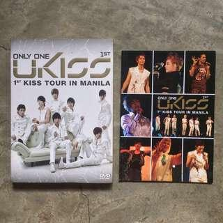 Only One U-KISS 1st Kiss Tour in Manila DVD