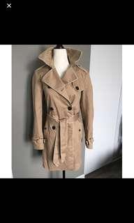 Gap Camel Trench Coat - Size SMALL