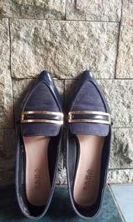 Zara trafaluc flat shoes